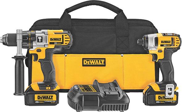 Dewalt DCK290L2 20V Max Hammer Drill and Impact Driver Combo