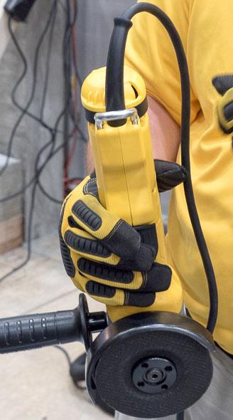 Dewalt Grinder with Safety Tether Loop