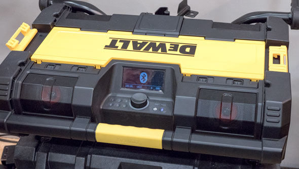 Dewalt ToughSystem Bluetooth Radio and Music Player
