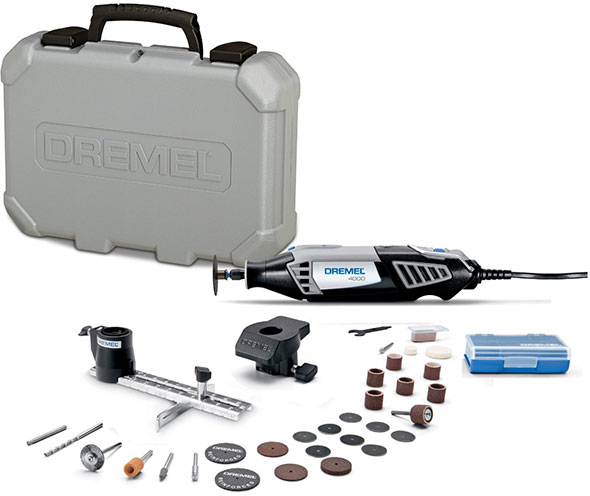 Deal Of The Day Dremel 4000 Rotary Tool Kit 6 8 2015