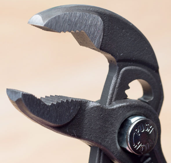 Knipex Mini Cobra Pliers Jaws