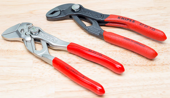 Knipex Mini Pliers Wrench and Mini Cobra Pliers