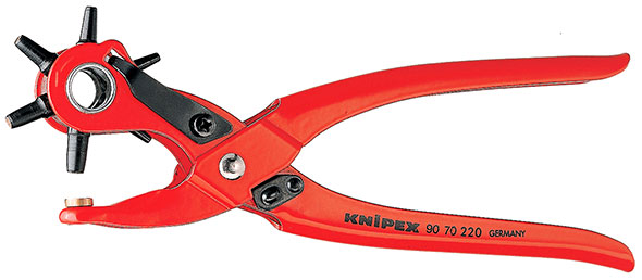Knipex Revolving Punch Hole Cutter