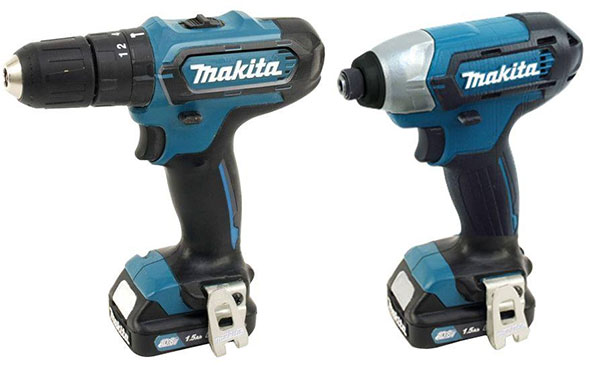 Makita CT226 12V CXT Drill and Impact Driver Combo