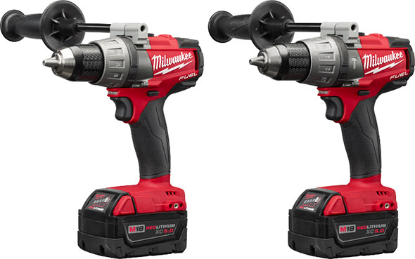 Milwaukee 2703 and 2704 M18 Fuel Brushless Drills