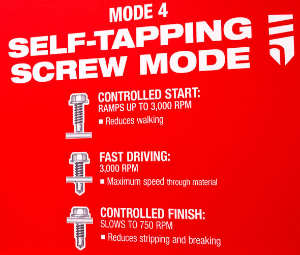 Milwaukee 2753 M18 Fuel Brushless Impact Driver Special 4th Mode