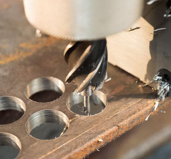 Milwaukee Cordless Mag Drill Annular Cutter Hole