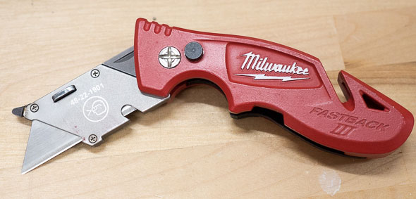 Milwaukee FastBack III Utility Knife