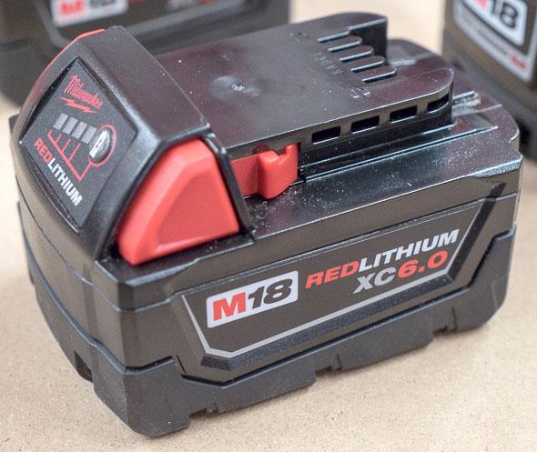 Milwaukee M18 6Ah Battery Pack