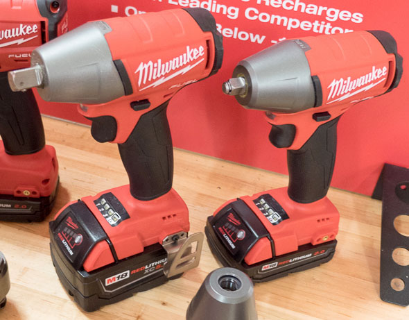 Milwaukee M18 Fuel Brushless Imapct Wrenches Second Generation