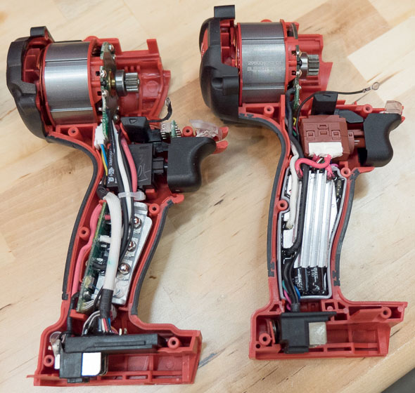 Milwaukee M18 Fuel Hammer Drill Gen 1 vs Gen 2 Insides