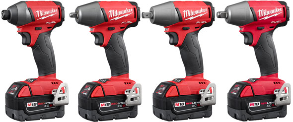 Milwaukee M18 Fuel Impact Driver And Wrenches Gen2 2017