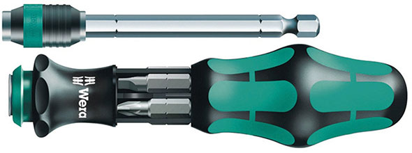 Wera Kraftform Kompakt 25 Bit Screwdriver Set