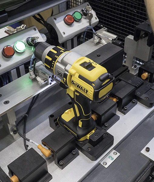 Dewalt 20V Brushless Hammer Drill Programming Stage