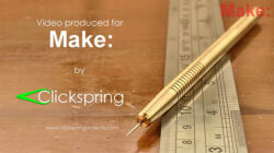 Check Out this DIY Brass-Handled Metal Scriber Project