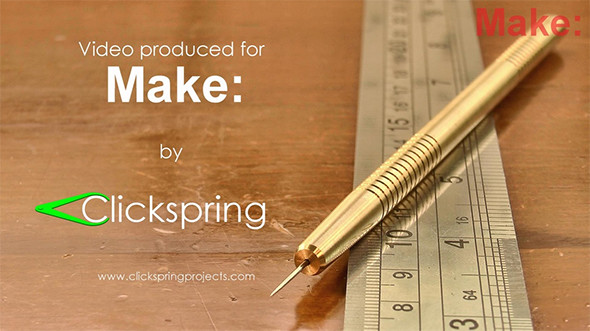 Make Clickspring DIY Brass Metal Scriber