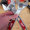 Milwaukee Adjustable Wrench Wide vs Standard Comparison