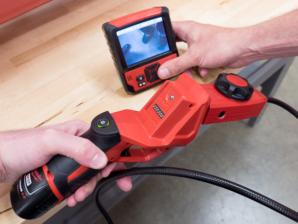 Milwaukee M-Spector Flex Inspection Camera Wireless Screen