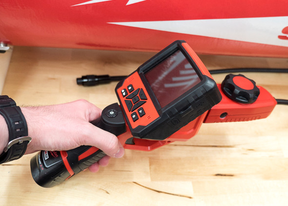 Milwaukee M-Spector Flex Inspection Camera with PivotView