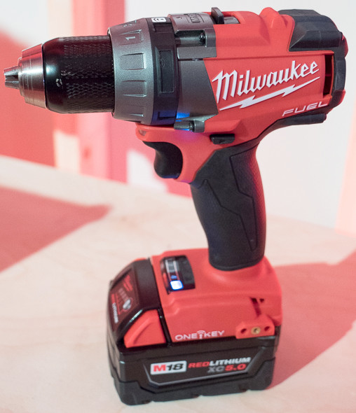 Milwaukee One Key M18 Fuel Brushless Drill