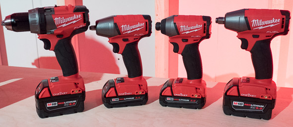 Milwaukee One Key M18 Fuel Drill and Impact Tools