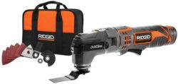 New Ridgid JobMax Tool-Free Oscillating Multi-Tool 12V Starter Kit