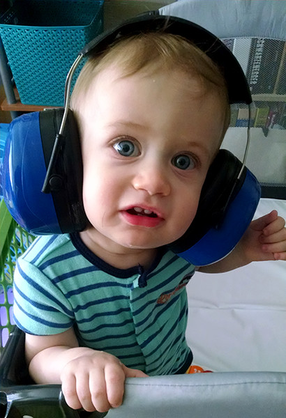 ToolGuyd Junior Hearing Protection Ear Muffs Confused Face