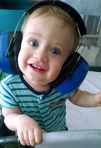 ToolGuyd Junior Hearing Protection Ear Muffs Eager Face
