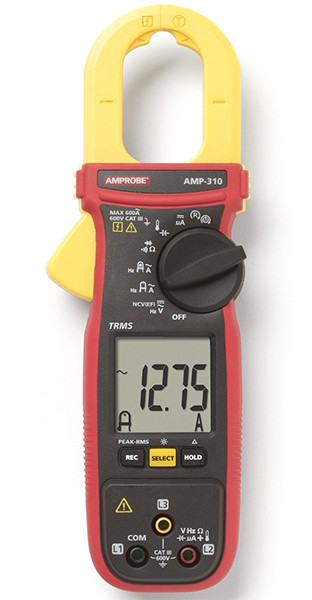 Can A Clamp Meter Measure Amps : Hands on amprobe current clamp meters