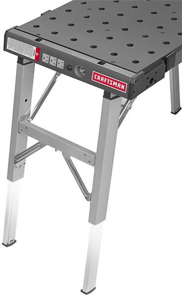 Craftsman Peg Table Adjustable Legs