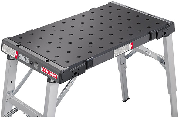 Craftsman clamping and assembly table for Craftsman workshop