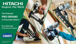 Hitachi and Lowes Announce an Exclusive Partnership