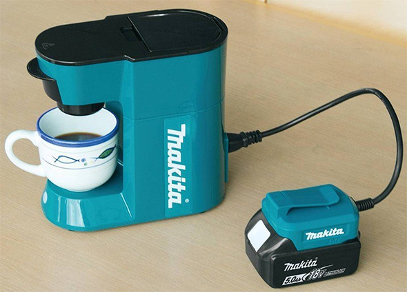 Makita 18V Cordless Coffee Maker USA Model