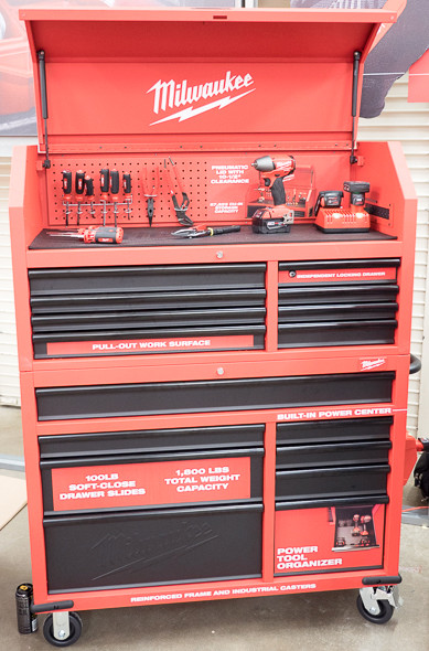 Next Gen Tool Storage Chest And Cabinet Combo Features