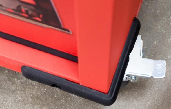 Milwaukee Ball Bearing Tool Storage Cabinet Bottom Corner Bumper