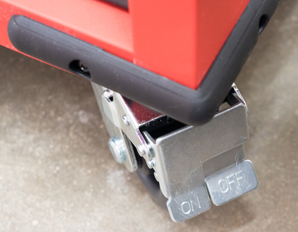 Milwaukee Ball Bearing Tool Storage Cabinet Locking Caster