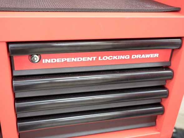 Milwaukee Ball Bearing Tool Storage Independent Locking Drawer