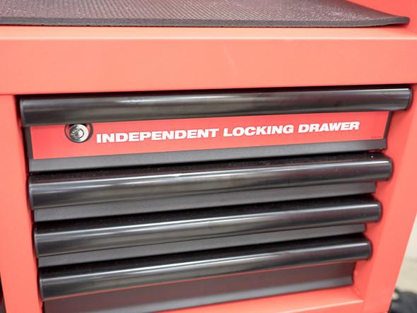 Milwaukee Ball Bearing Tool Storage Independent Locking Drawer