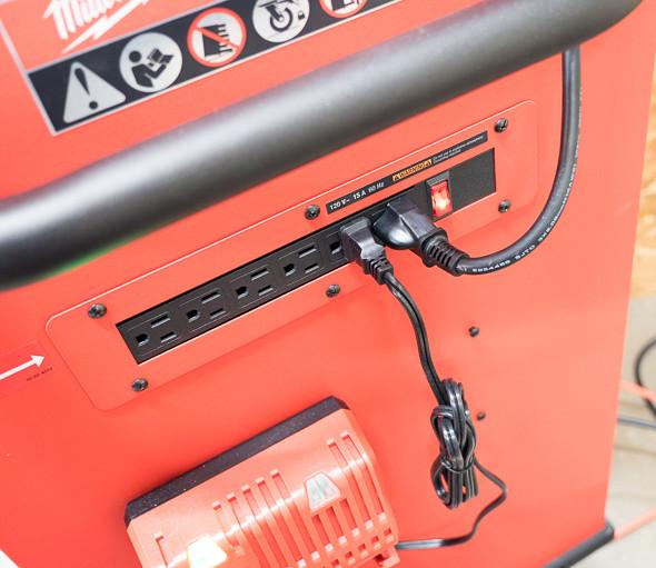 Milwaukee Ball Bearing Tool Storage Power Strip