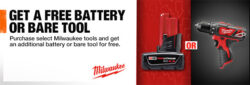Deal: Buy a Select Milwaukee M12 Cordless Tool Kit, Get FREE STUFF!