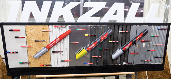 Milwaukee Inkzall Marker Selection