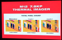 "New Milwaukee ""7.8KP"" Thermal Imaging Camera"
