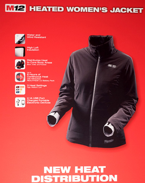 New Milwaukee Ripstop and Womens Heated Jackets for 2015/2016
