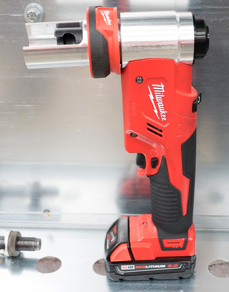Milwaukee M18 ForceLogic 6T Knockout Punch Tool