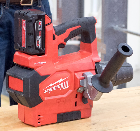 New Milwaukee Force Logic 6T Knockout Punch Tool, Cutter
