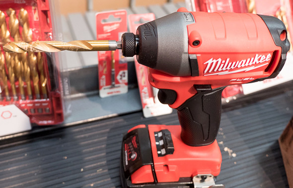 Milwaukee RedHelix Hex Shank Drill Bit Impact Compatibility