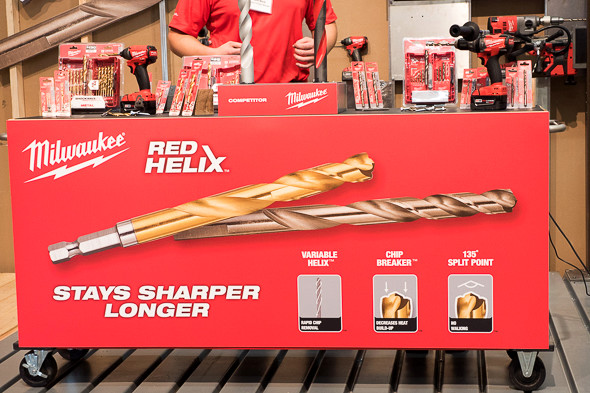 Milwaukee RedHelix Hex Shank Drill Bits