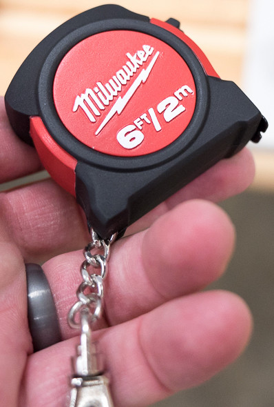 Milwaukee Tape Measure Keychain