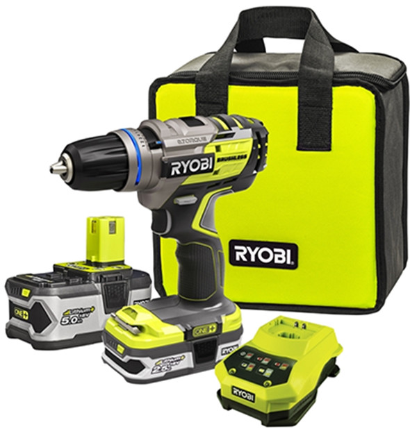 new ryobi brushless drill. Black Bedroom Furniture Sets. Home Design Ideas