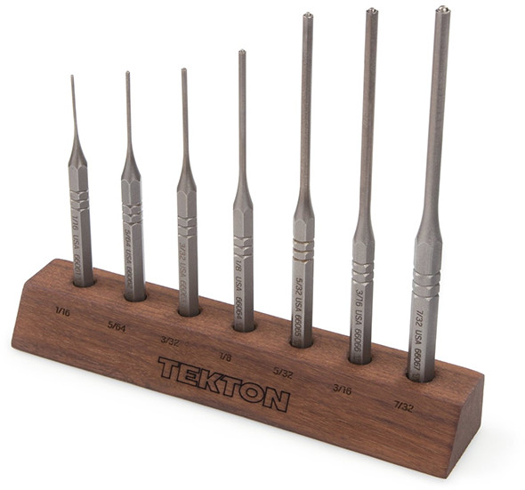 Tekton 66536 Roll Pin Punch Set